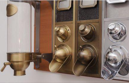 Zásobníky na zrnkovou kávu